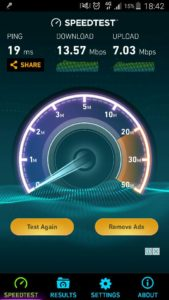 webe speed test